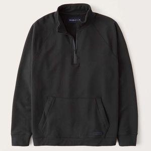 Terry Half Zip Sweatshirt Size M NWT